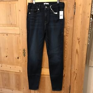 Good American Jeans - Good American good legs blue 089 high rise ankle